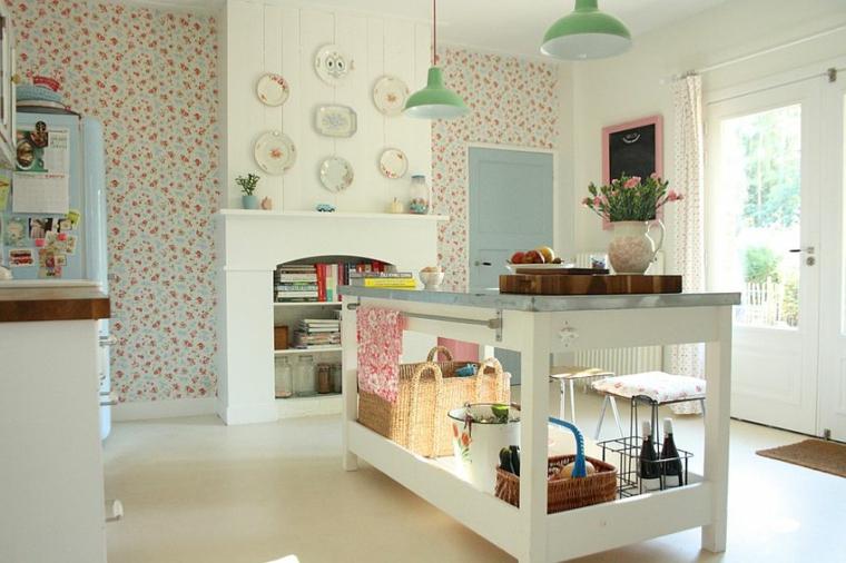 1001 idee per cucine shabby chic trendy e low cost