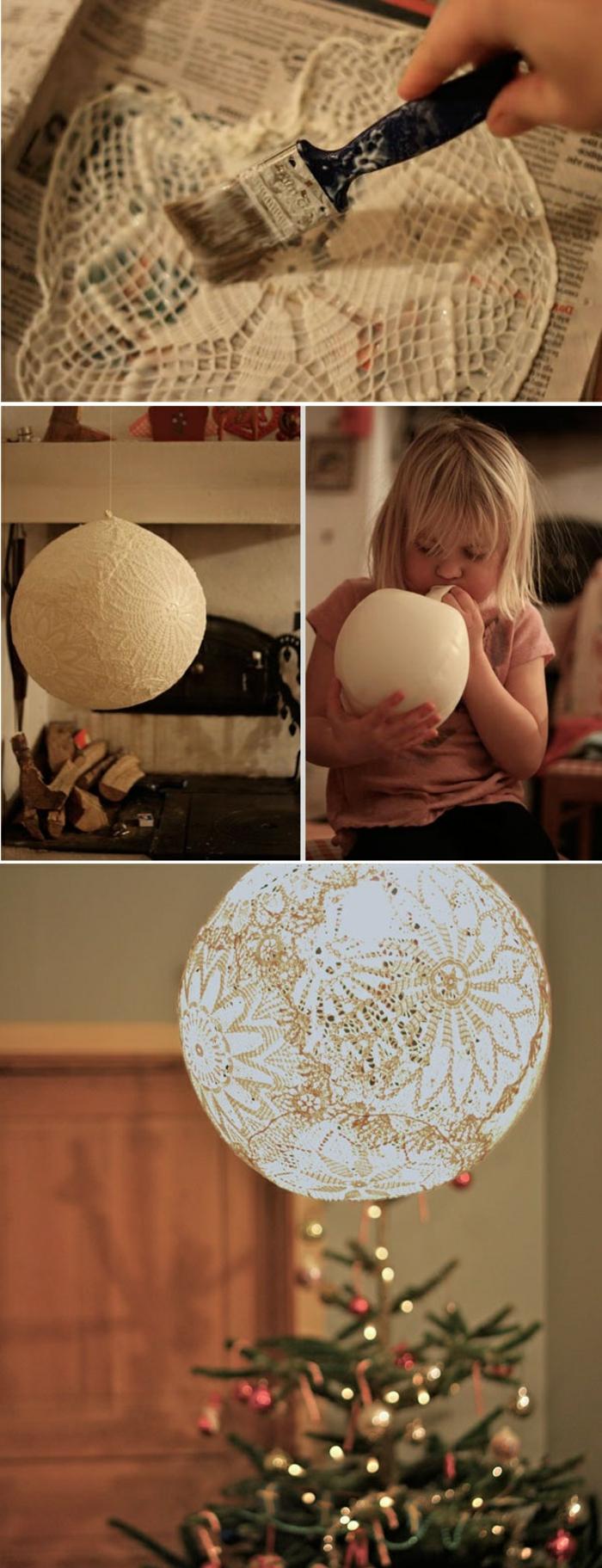 1001 idee per creazioni fai da te originali e facili da - Decorazioni natalizie fatte a mano per bambini ...