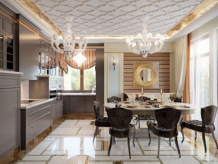 Cucina Con Sala Da Pranzo