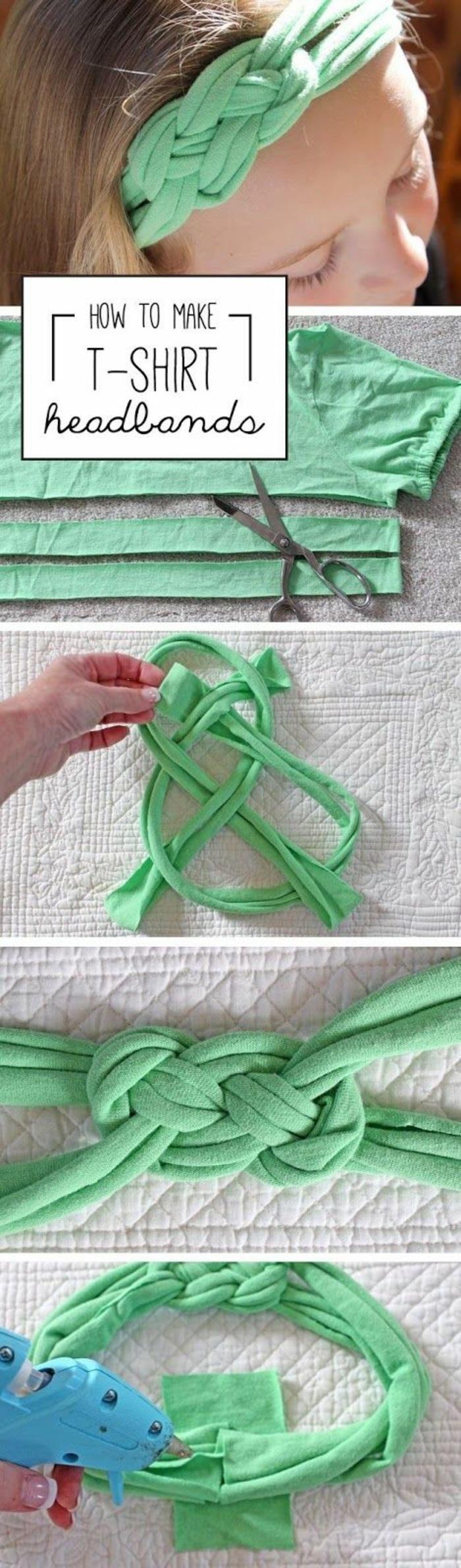 idea di lavoretto da fare con i più piccoli, come creare una fascia per capelli, cose da creare in casa