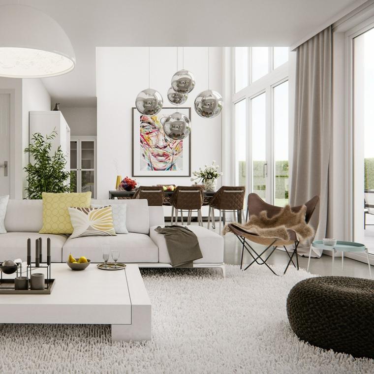 1001 idee per arredare salotto e sala da pranzo insieme for Idee arredamento soggiorno fai da te