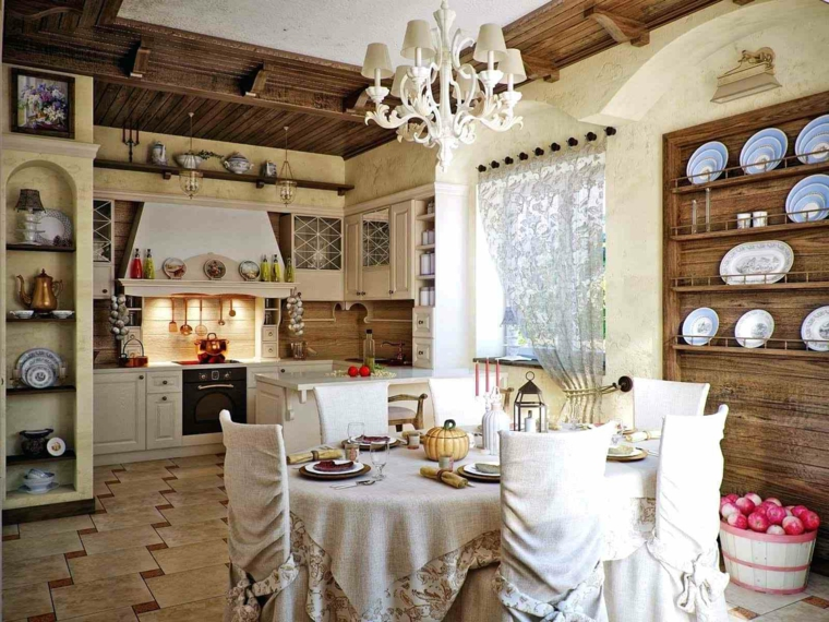 Credenza Shabby Per Cucina : Credenze e buffet per una cucina dal sapore antico m
