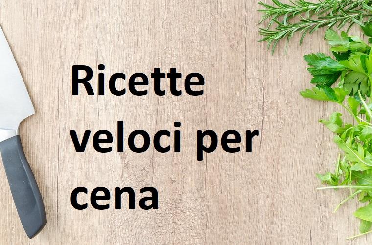 Scritta su sfondo di legno, come preparare una cena veloce, spezie di colore verde e coltello
