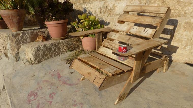 1001 idee per pallet arredamento originale e creativo for Bancali legno per arredare