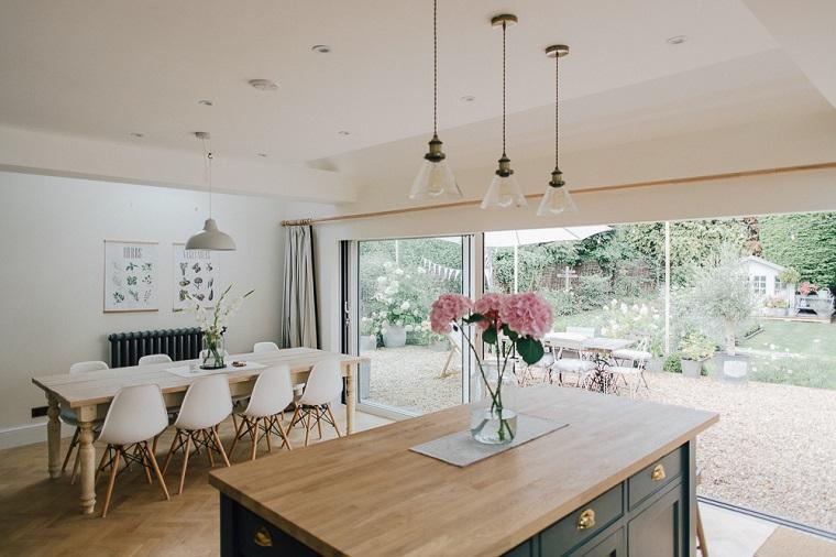 Arredamento Sala Da The.1001 Idee Per Cucina Soggiorno Open Space Idee Di Arredamento