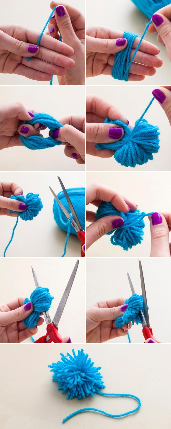 passo dopo passo come realizzare i pon pon in modo semplice per fai da te oggetti creativi