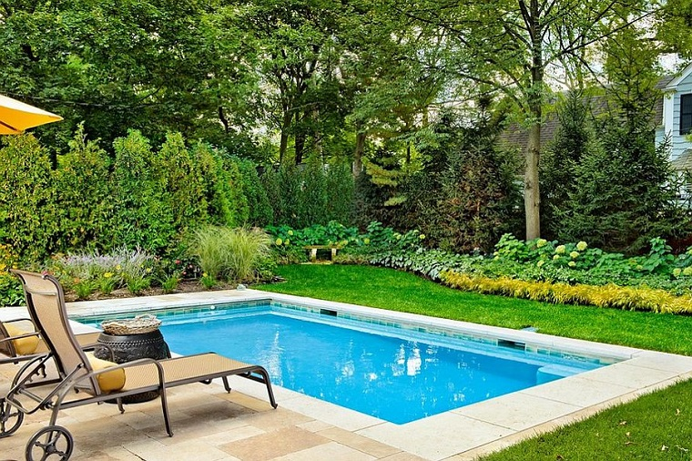 1001 idee per piccoli giardini suggerimenti da copiare - Piccola piscina ...