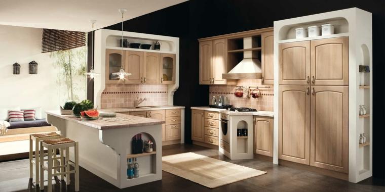 Foto Di Cucine In Muratura Moderne.1001 Idee Per Cucine In Muratura Funzionali E Accoglienti