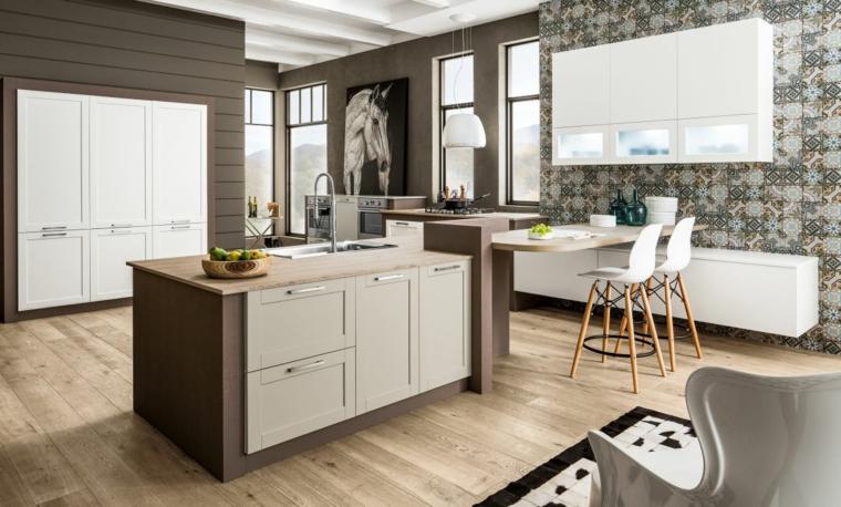 1001 idee per cucine in muratura funzionali e accoglienti - Ante per cucine in muratura ...