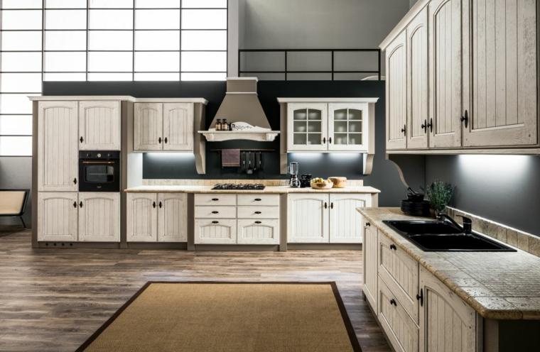 1001 idee per cucine in muratura funzionali e accoglienti for Cucine moderne scure