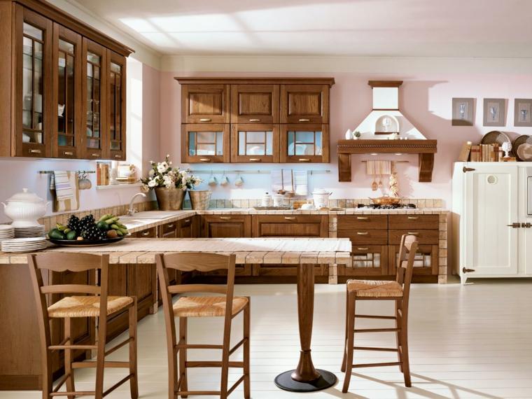 Come Costruire Una Cucina In Muratura Moderna.1001 Idee Per Cucine In Muratura Funzionali E Accoglienti