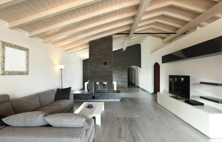 1001 idee per come arredare una mansarda sfruttandone le for Arredare casa con travi a vista