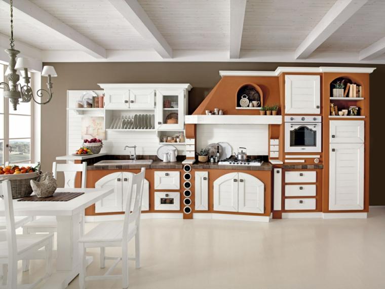 1001 idee per cucine in muratura funzionali e accoglienti for Costruire isola cucina