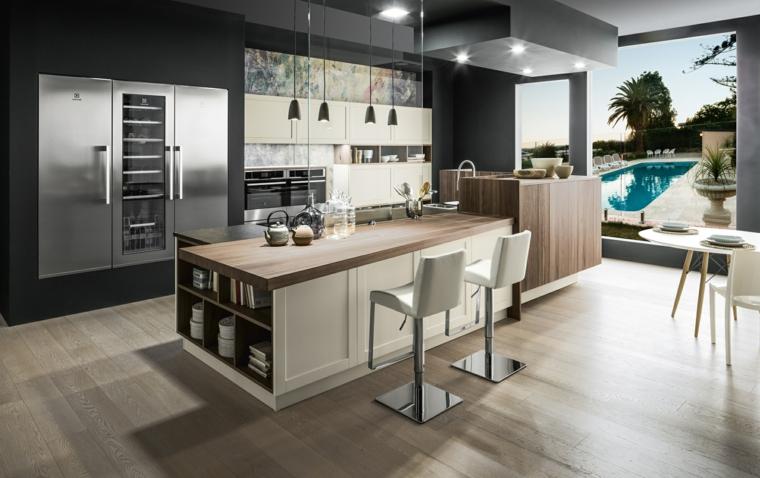 Esempi Di Cucine In Muratura Moderne.1001 Idee Per Cucine In Muratura Funzionali E Accoglienti
