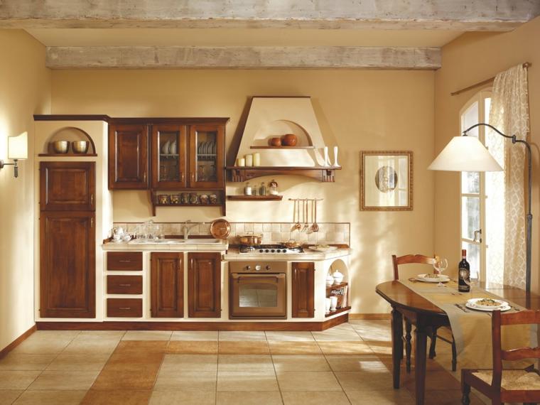 Idee per cucine in muratura funzionali e accoglienti