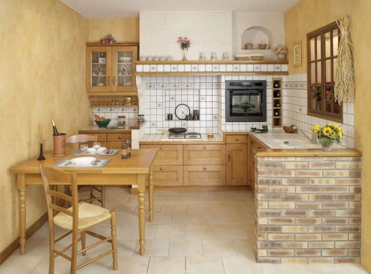 Idee Per Cucine In Muratura.1001 Idee Per Cucine In Muratura Funzionali E Accoglienti