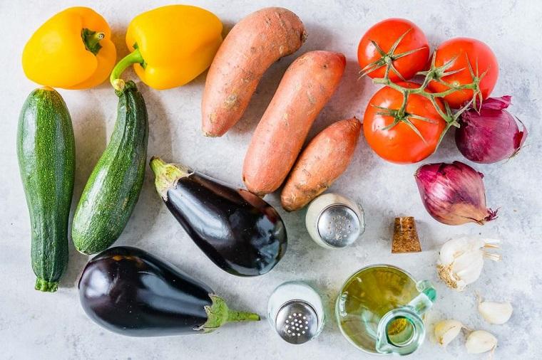 Idee cena veloce con verdure di stagione, verdura per preparare una ratatouille
