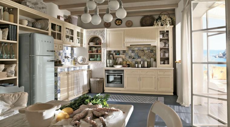 1001 idee per cucine in muratura funzionali e accoglienti - Cucine color avorio ...
