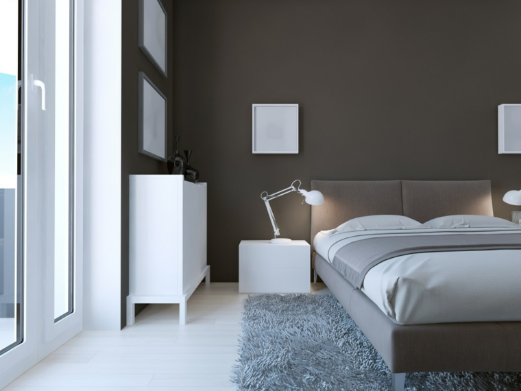 1001 idee per color tortora alle pareti all 39 arredamento for Camera da letto grande