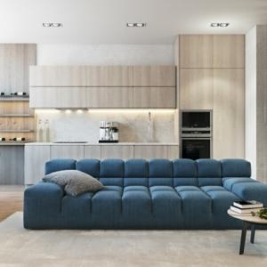 1001 idee per arredare salotto piccolo foto e proposte for Piccoli soggiorni moderni