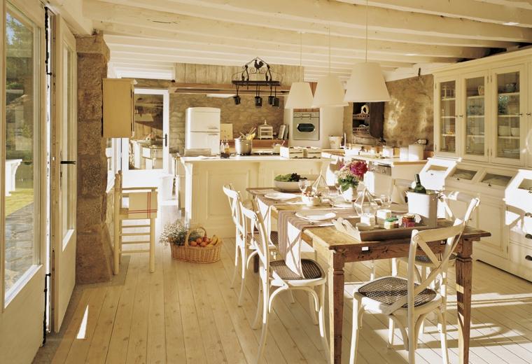 1001 idee per cucine in muratura funzionali e accoglienti - Costruire una cucina ...
