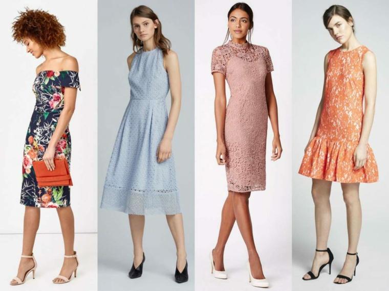 Come vestirsi matrimonio mattina, proposte con abiti midi colorati