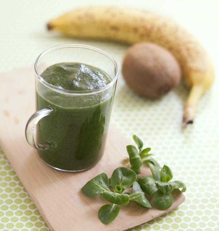 Ricetta per dei frullati di frutta e verdura con una consistenza cremosa