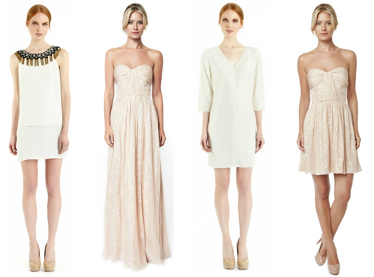 Idee sul come vestirsi matrimonio mattina con dei vestiti nella tonalità dei colori pastello