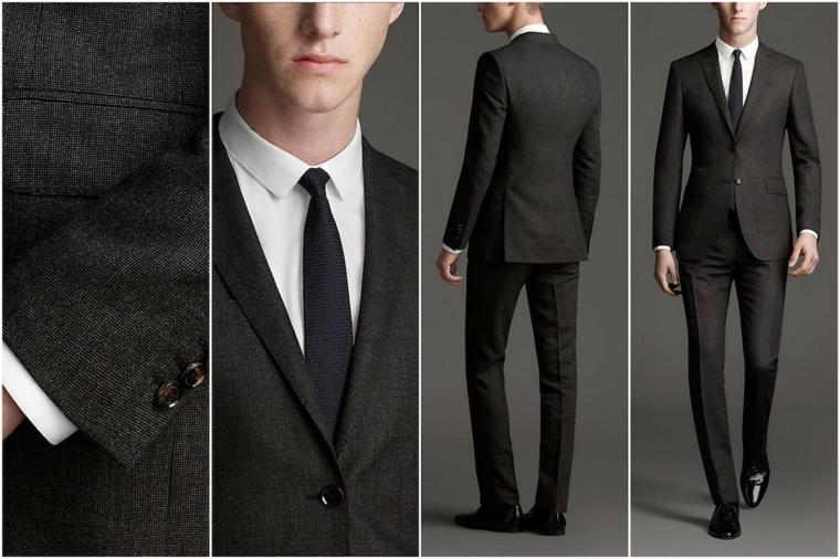Vestito Matrimonio Uomo Nero : Idee per come vestirsi ad un matrimonio i trend