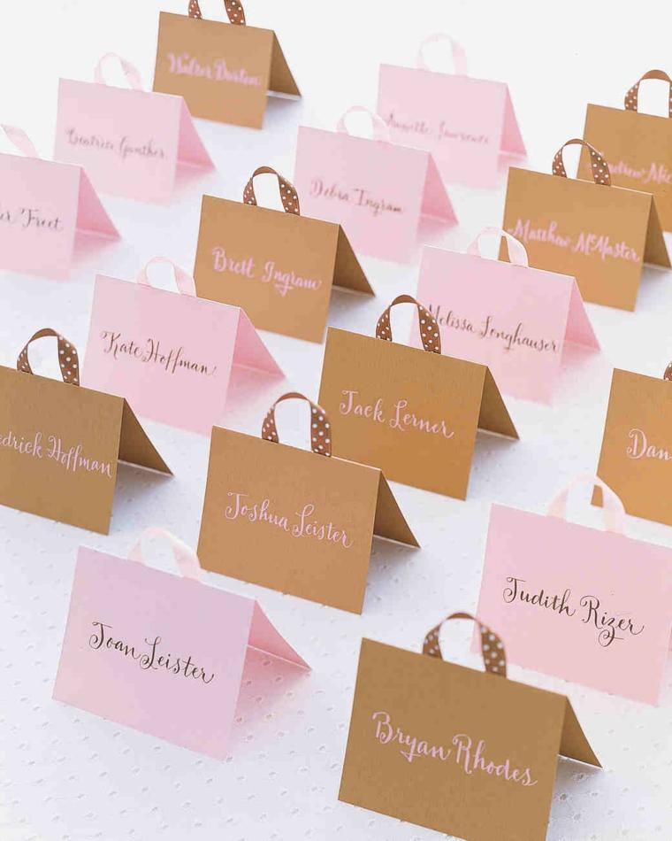 1001 idee per segnaposto matrimonio spunti da copiare - Idee originali per segnaposto matrimonio ...