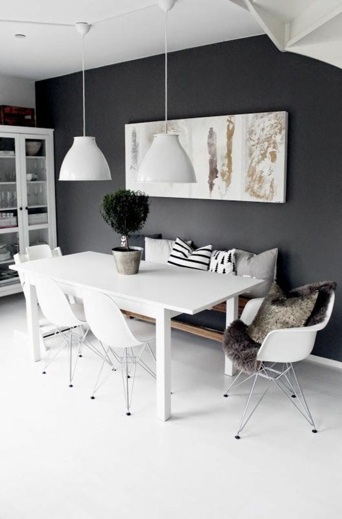 1001 idee per sala da pranzo moderna suggerimenti per for Colori per pareti sala da pranzo