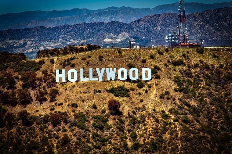 Tour Stati Uniti e un'immagine delle colline di Hollywood, Los Angeles