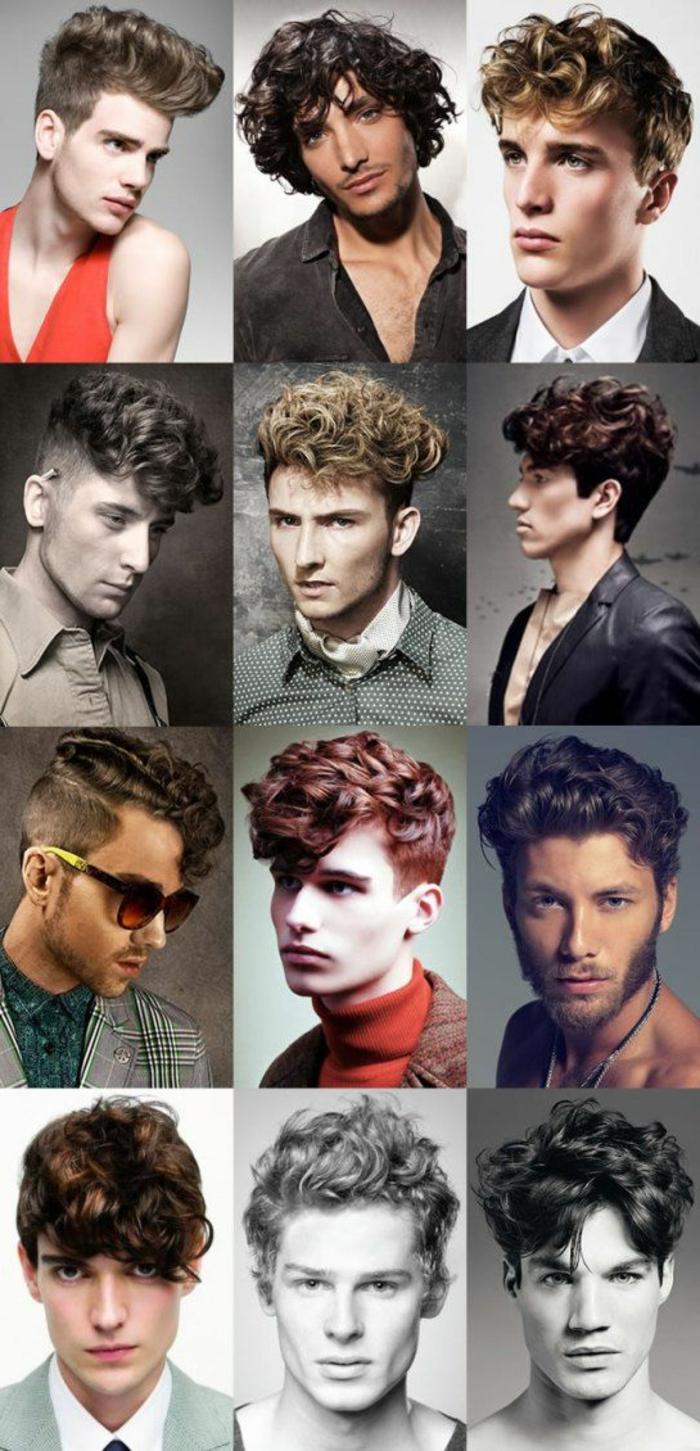 Come tagliare i capelli ricci, idee per delle pettinature moderne e vintage