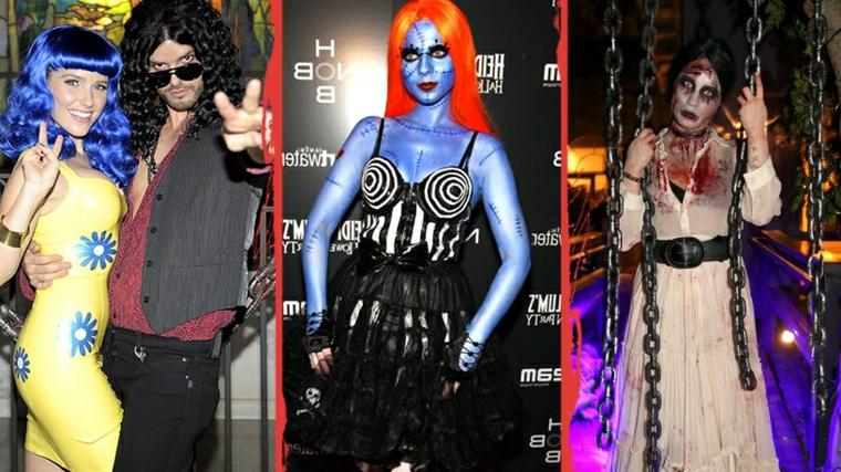 Costumi Halloween originali, un'idea di abbigliamento di coppia e personaggi da paura