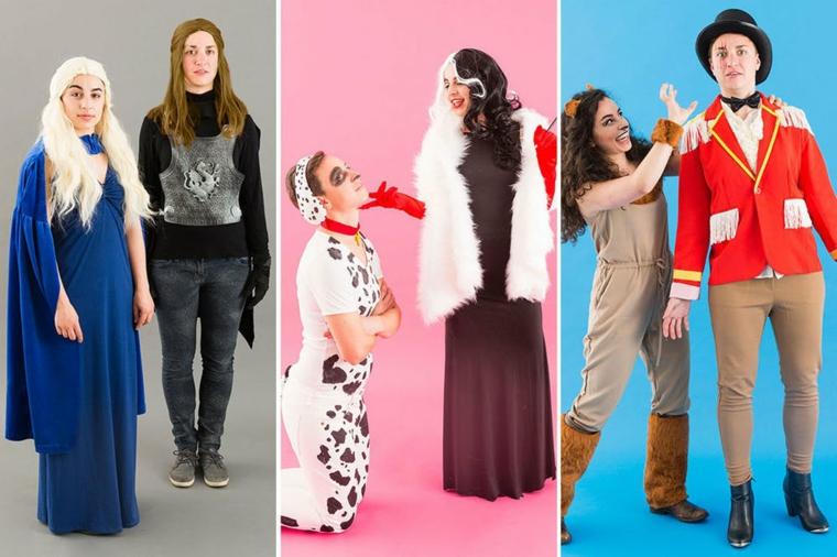 Idea per dei costumi di coppia per Halloween, tre proposte di travestimento originale
