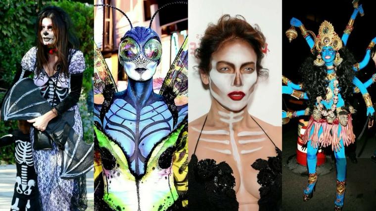 Travestimenti Halloween originali delle donne famose con abiti straordinari