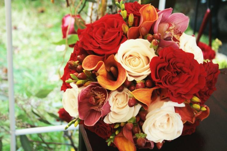 Idea per delle immagini paesaggi autunnali, un bouquet di fiori di stagione