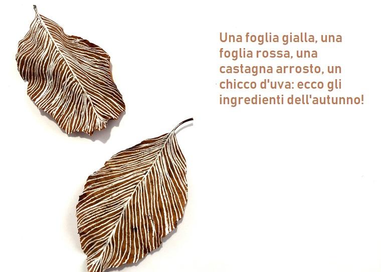 Gli sfondi più belli al mondo e foglie secche con disegno, frase ispirata all'autunno