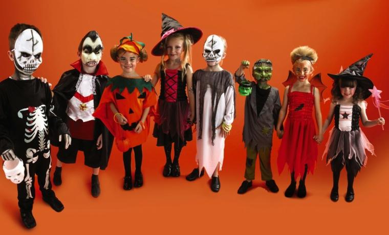 Costumi Halloween bambina, idea per il travestimento dei bambini come mostri