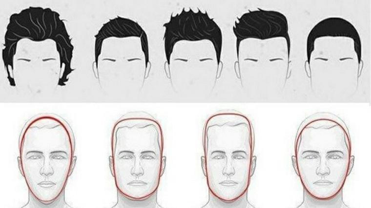 Idea per dei tagli di capelli uomo da scegliere in base alla forma del viso