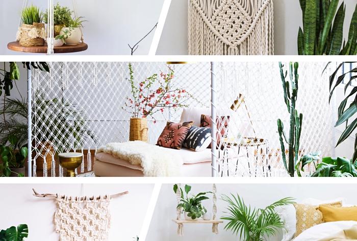 Un nodo macramè semplice per realizzare delle decorazioni a sospensione per la casa