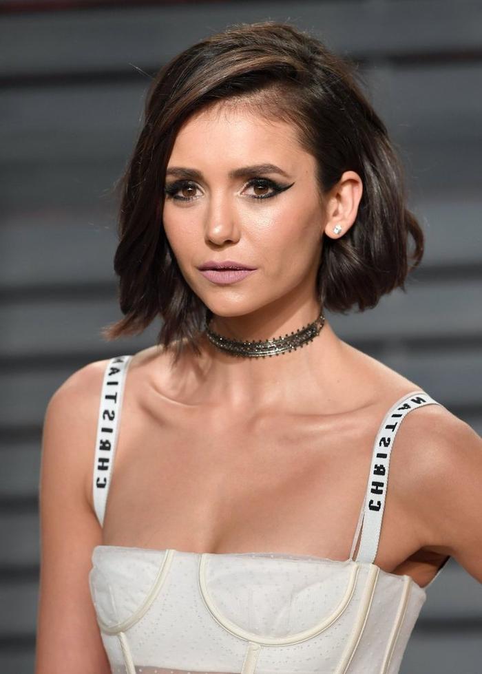 Idea tagli capelli corti immagini e una proposta acconciatura a caschetto di Nina Dobrev
