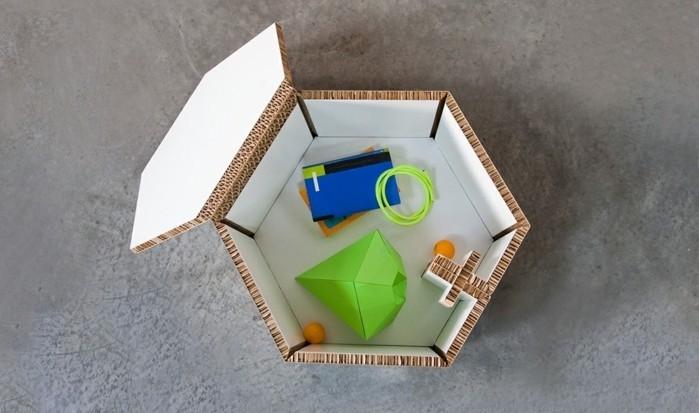 Tavolino basso con contenitore, arredamento fai da te per il soggiorno