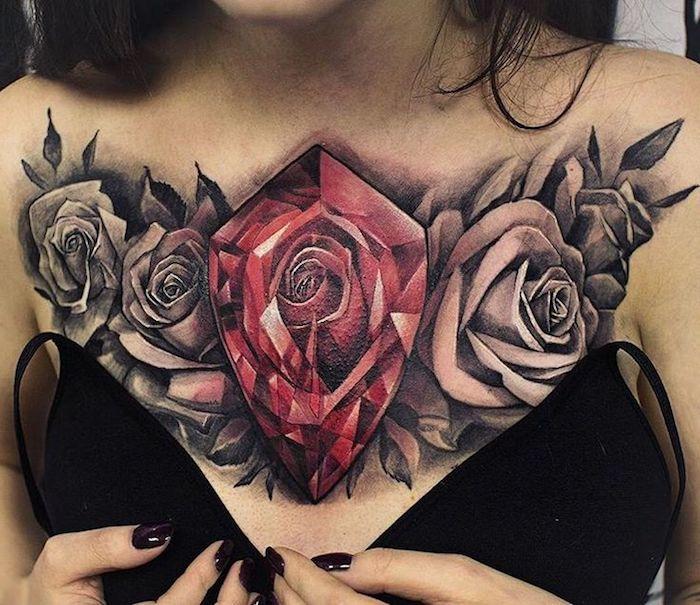 1001 idee per tatuaggio donna con i disegni pi popolari. Black Bedroom Furniture Sets. Home Design Ideas