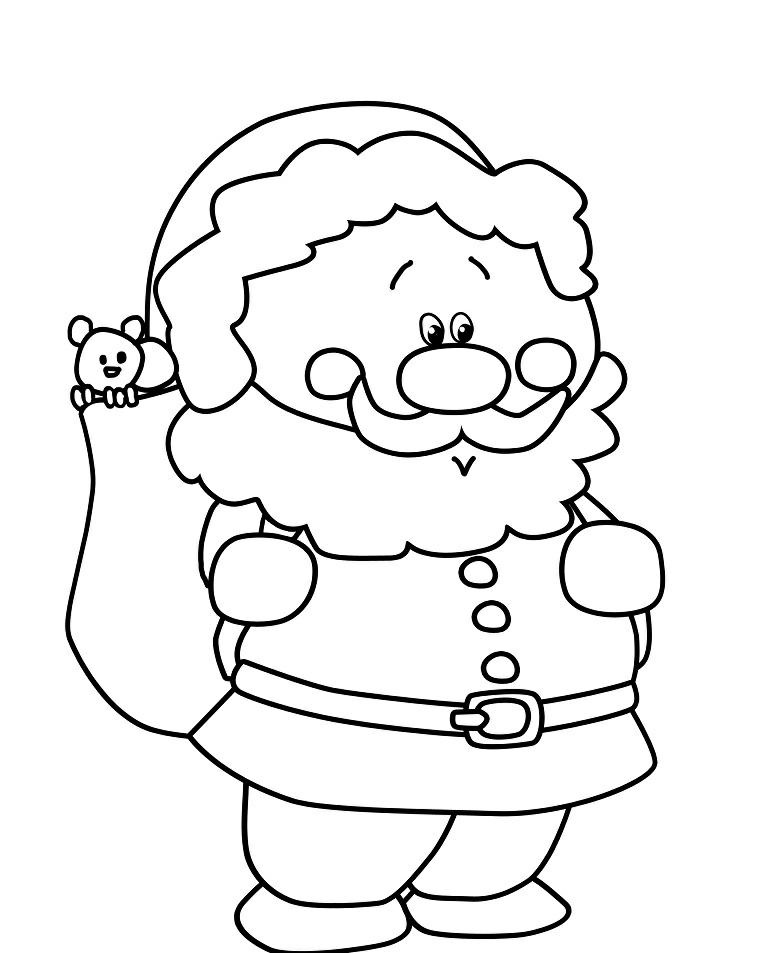 Disegni Di Natale Da Colorare Per Adulti.1001 Idee Per Disegni Di Natale Da Colorare E Stampare