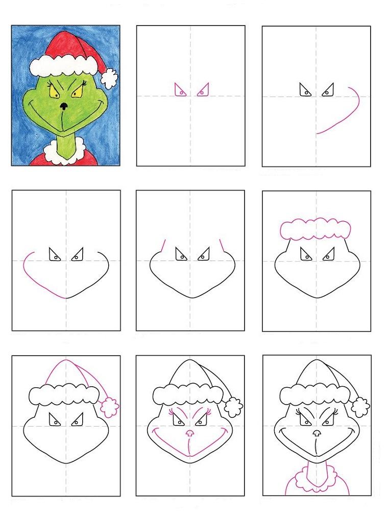 Disegni di Natale da colorare  attività per bambini a tema natalizio ... c4ac60117ca0