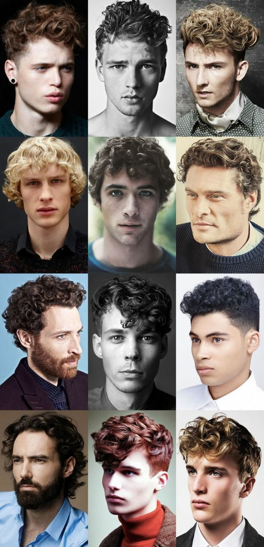 Acconciature maschili da copiare per uomini con capelli ricci