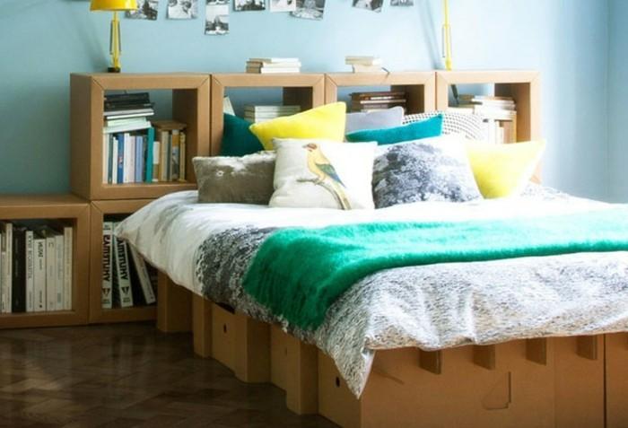Costruire un mobile di cartone per la camera da letto