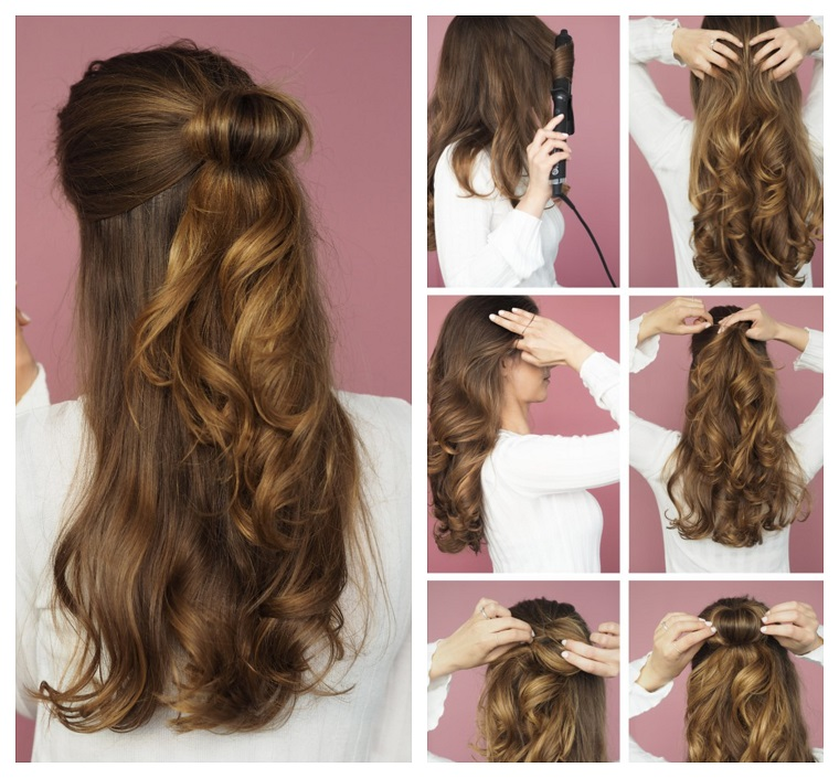 Acconciature semplici per capelli medio lunghi
