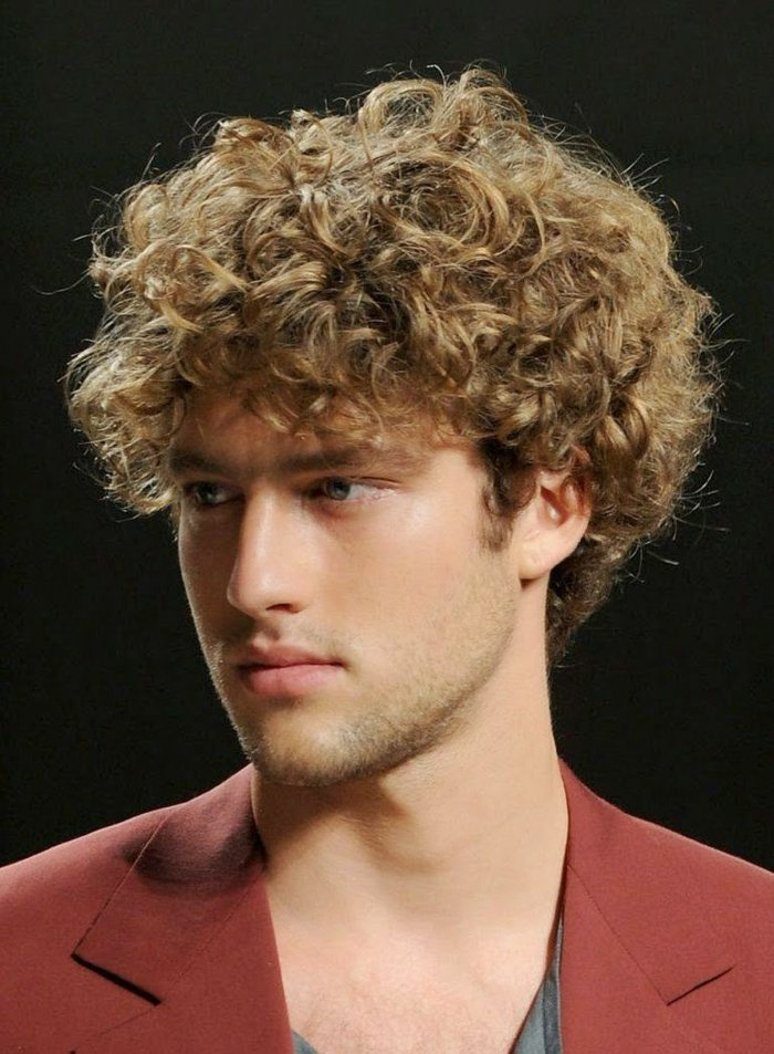 1001 + idee per Acconciature uomo per capelli ricci